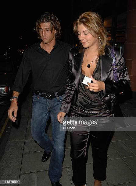 Hernan Crespo during Celebrity Sighting in London August 5 2005 at Soho in London Great Britain
