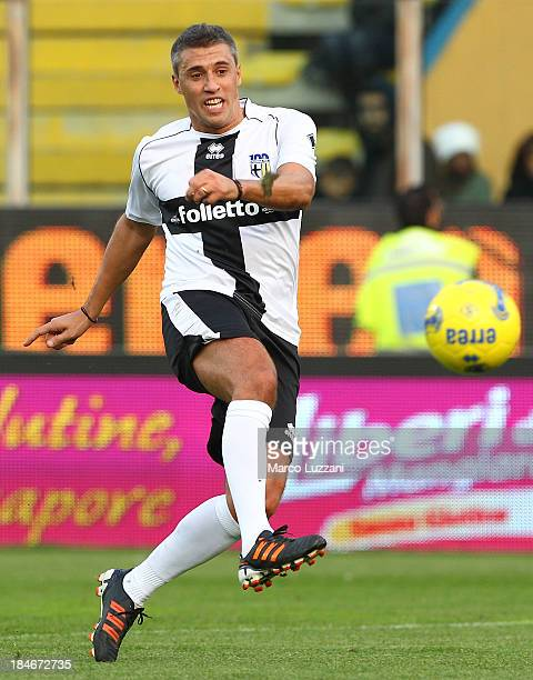 Hernan Crespo of Stelle Crociate in action during the 100 Years Anniversary match between Stelle Crociate and US Stelle Gialloblu at Stadio Ennio...
