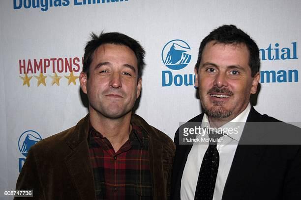 Hernan Otano Cinematographer and Chris Eigeman attend Arrivals TURN THE RIVER at Hamptons International Film Festival on October 19 2007 in United...