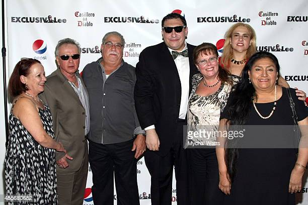 Hernandez Family attends the Exclusivleecom Launch Party>> at Stray Kat Gallery on September 18 2014 in New York City