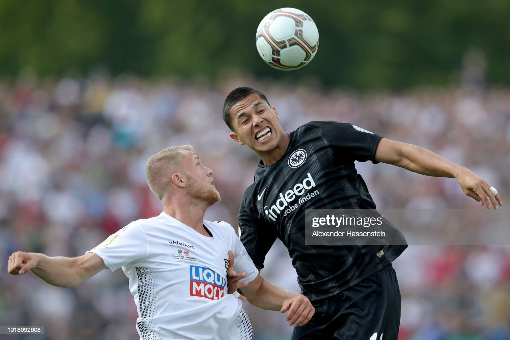 SSV Ulm 1846 Fussball v Eintracht Frankfurt - DFB Cup