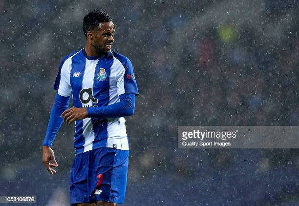 Hernani of Porto looks on during the Group D match of the UEFA Champions League between FC Porto and FC Lokomotiv Moscow at Estadio do Dragao on...