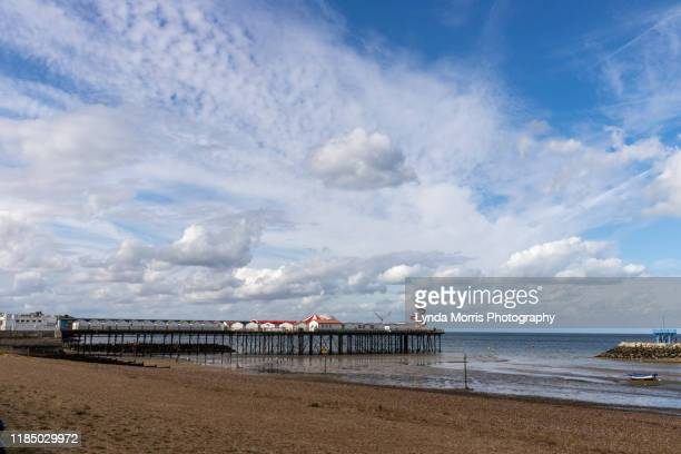 herne bay kent - pier stock pictures, royalty-free photos & images