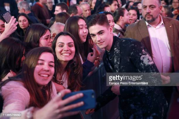 Hero Fiennes Tiffin attends 'After Aqui empieza todo' premiere on March 26 2019 in Madrid Spain