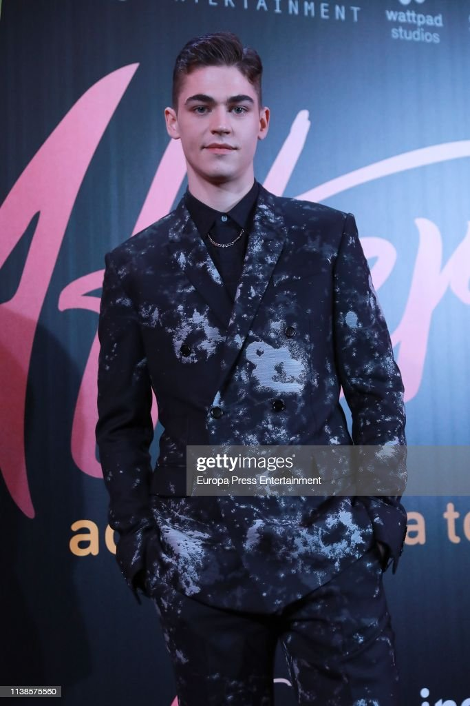 'After, Aqui Empieza Todo' Madrid Premiere : News Photo
