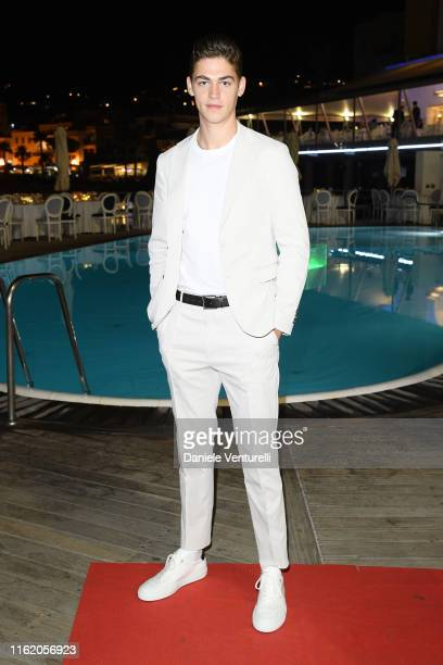 Hero Fiennes Tiffin attends the 2019 Ischia Global Film Music Fest opening ceremony on July 14 2019 in Ischia Italy