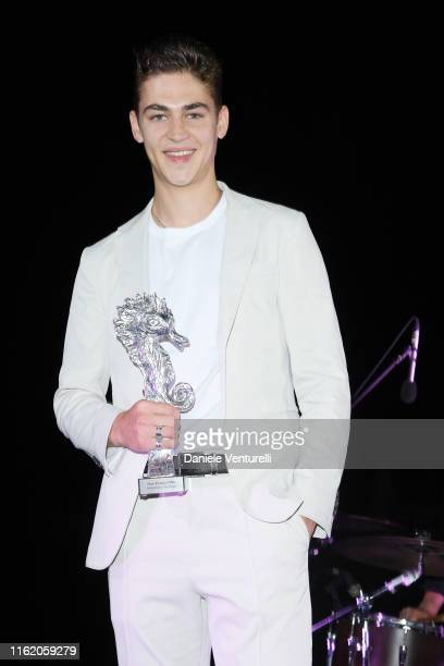 Hero Fiennes Tiffin attends the 2019 Ischia Global Film & Music Fest opening ceremony on July 14, 2019 in Ischia, Italy.
