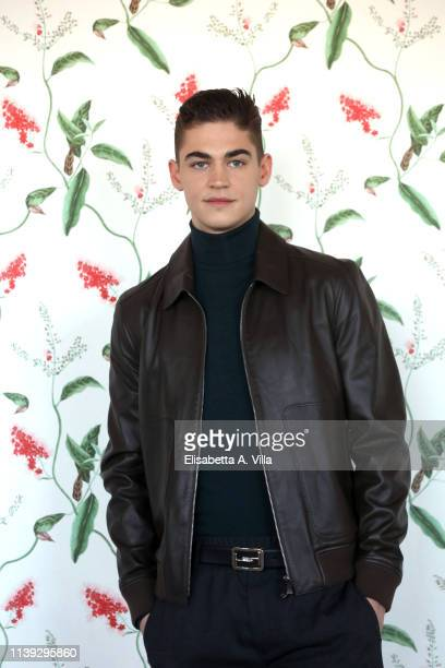 "Hero Fiennes Tiffin attends the photocall for ""After"" at Hotel Palazzo Naiadi on March 30, 2019 in Rome, Italy."