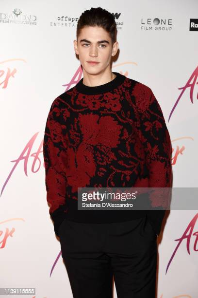 Hero Fiennes Tiffin attends the photocall for After at on March 29 2019 in Milan Italy