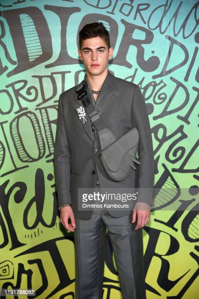 Hero FiennesTiffin attends the Dior Men's Fall 2020 Runway Show on December 03 2019 in Miami Florida