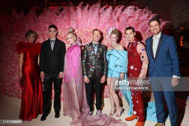 Hero FiennesTiffin Pom Klementieff Paul Andrew Lili Reinhart Cole Sprouse attend The 2019 Met Gala Celebrating Camp Notes on Fashion at Metropolitan...