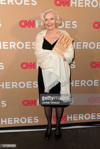 Hero Guadalupe Arizpe de la Vega of ÒHospital de la FamiliaÓ attends the 2010 CNN Heroes: An All-Star Tribute held at The Shrine Auditorium on...