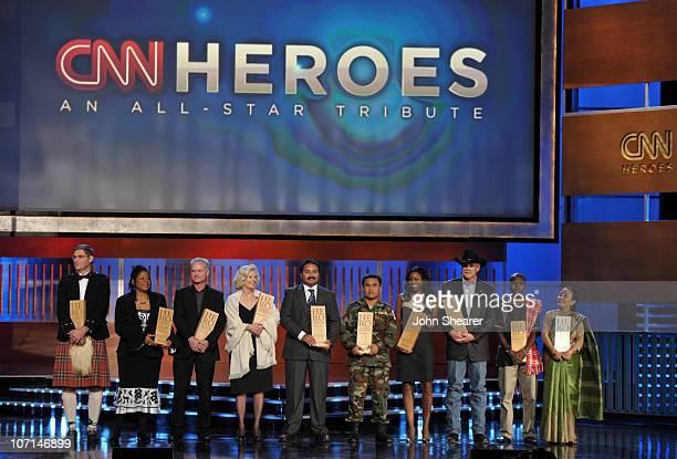 Hero Magnus MacFarlane-Barrow of �Mary�s Meals�, CNN Hero Susan Burton of �A New Way of Life Reentry Project�, CNN Hero Harmon Parker of � Bridging...