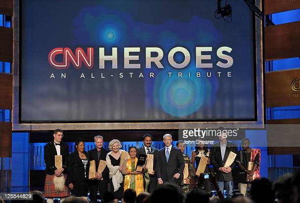 "Hero Magnus MacFarlane-Barrow of ""Mary's Meals"", CNN Hero Susan Burton of ""A New Way of Life Reentry Project"", CNN Hero Harmon Parker of ""Bridging..."