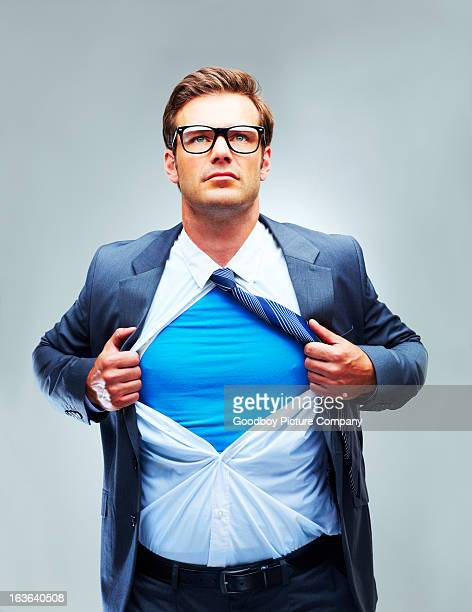 hero of the corporation! - superhero stock pictures, royalty-free photos & images
