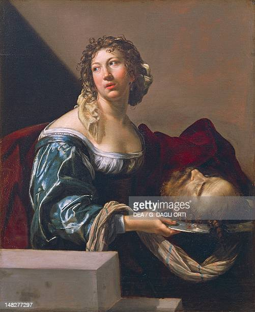 Herodias bearing the head of St John the Baptist attributed to Claude Mellan Montpellier Musée Fabre