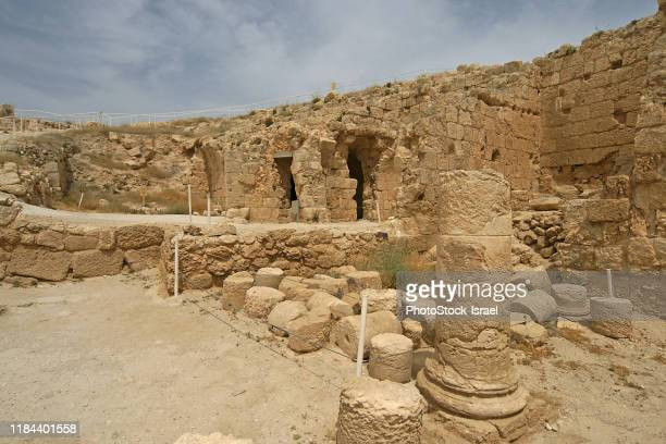herodion, west bank - ancient civilisation stock pictures, royalty-free photos & images