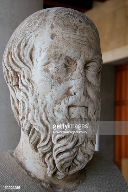 Herodotus of Halicarnassus , Was a greek historian , 5th century B.C, The 'Father of History' in Western culture, Bust of Herodotus, Ancient Agora,...
