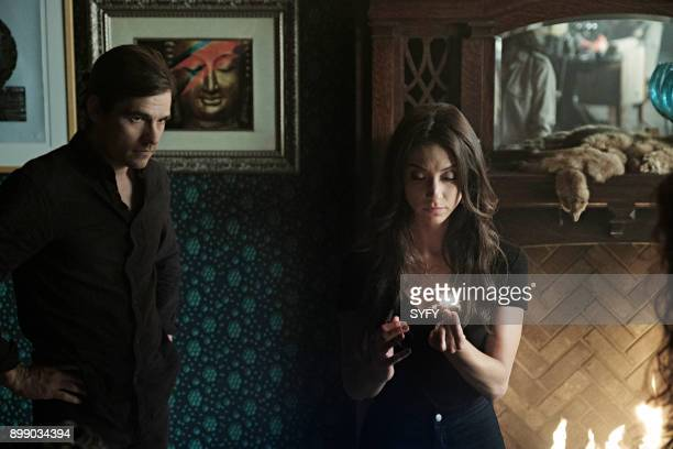 THE MAGICIANS Heroes and Morons Episode 302 Pictured Jason Ralph as Quentin Coldwater Stella Maeve as Julia Wicker