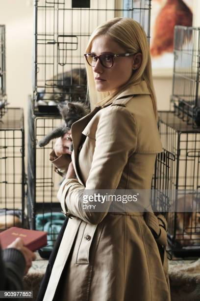 THE MAGICIANS 'Heroes and Morons' Episode 302 Pictured Olivia Taylor Dudley as Alice Quinn