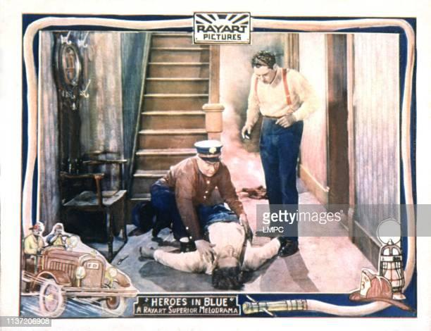 Heroes In Blue lobbycard John Bowers 1927