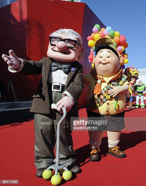 Heroes of Pixar films arrive for the ceremony for the Golden Lion for Lifetime Achievement ceremony at the Venice film festival on September 6 2009...