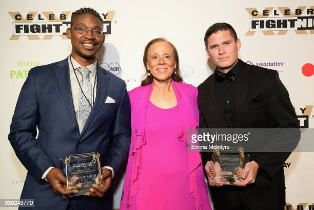 Heroes of the 2017 Las Vegas Shooting Muhammed Ali Celebrity Fight Night Award recipient Jonathan Smith Muhammad Ali Celebrity Fight Night award...