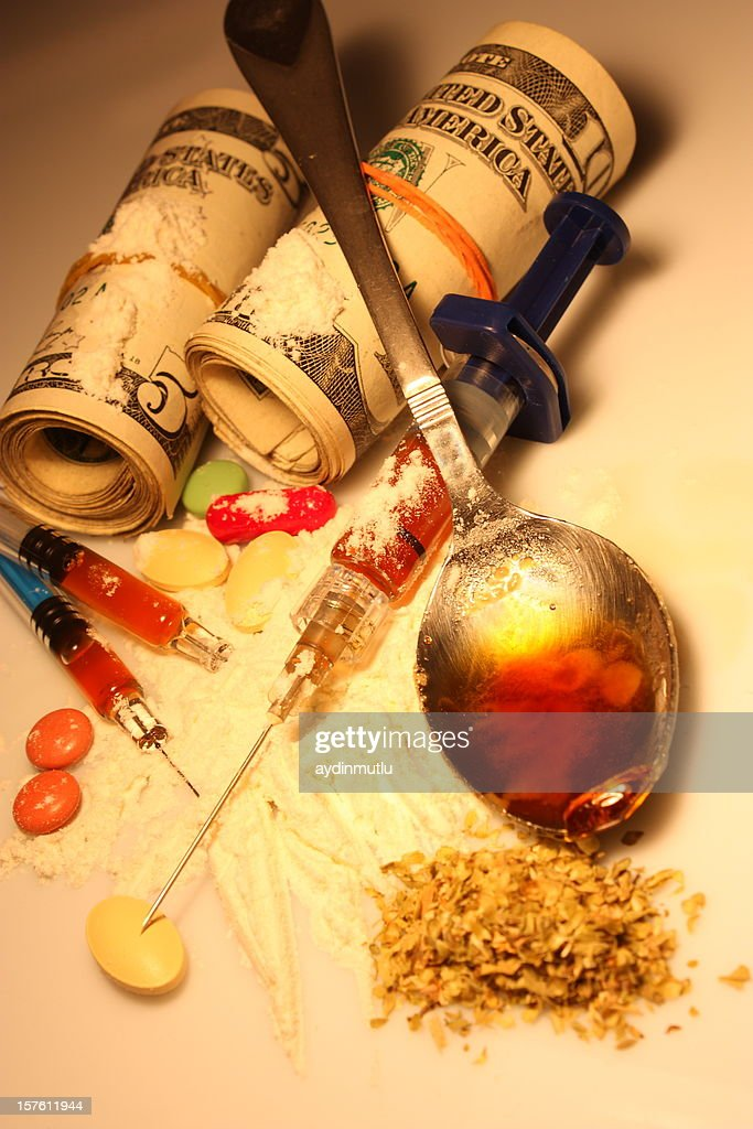Heroin addiction : Stock Photo