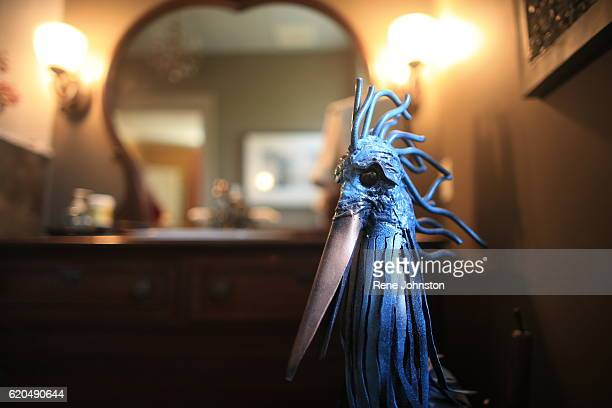 TORONTO ON October 31A heron in the washroom Andrea Mathieson is the owner of The Rupert House A piece of Torontoarea history is on the market Rupert...