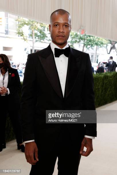 Heron Preston attends The 2021 Met Gala Celebrating In America: A Lexicon Of Fashion at Metropolitan Museum of Art on September 13, 2021 in New York...
