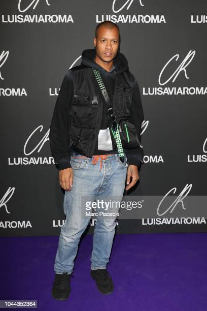 Heron Preston attends the CR Fashion Book x LuisaViaRoma Photocall as part of the Paris Fashion Week Womenswear Spring/Summer 2019 on October 1 2018...