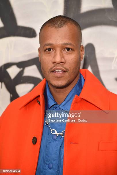 Heron Preston attends the Louis Vuitton Menswear Fall/Winter 2019/2020 show as part of Paris Fashion Week on January 17, 2019 in Paris, France.