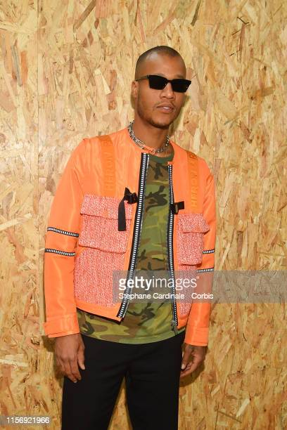 Heron Preston attends the Off-White Menswear Spring Summer 2020 show as part of Paris Fashion Week on June 19, 2019 in Paris, France.