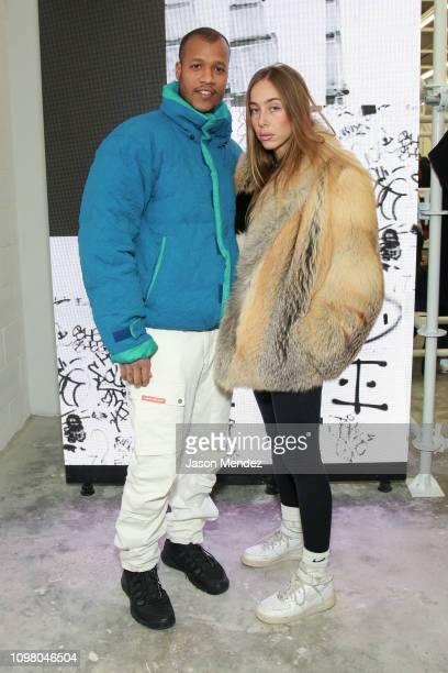 Heron Preston on February 11 2019 in New York City