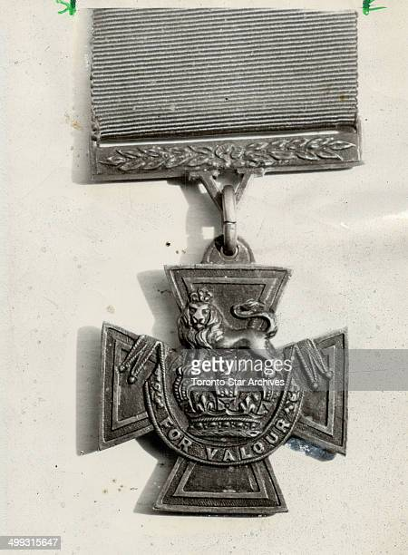Hero's award The Victoria Cross was awarded to pilot David Hornell right who had grown up in a house on a street now known as Lake Cres in Mimico