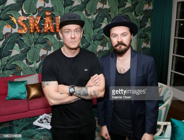Herring Herring CoFounders Jesper Carlsen and Dimitri Scheblanov attend the Herring Herring Issue 5 launch party at the private residence of Jonas...