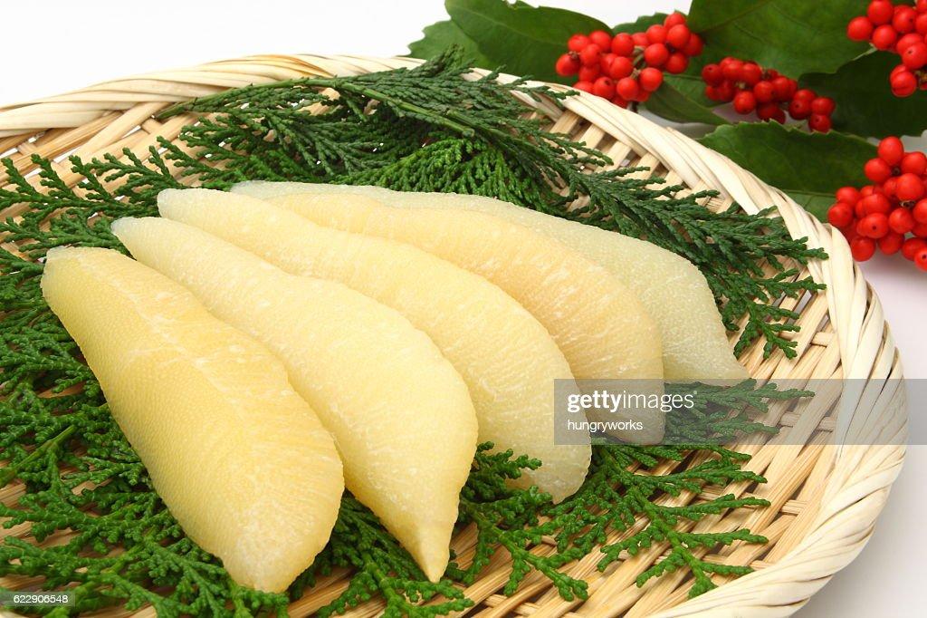Herring roe, Japanese food : Stock Photo