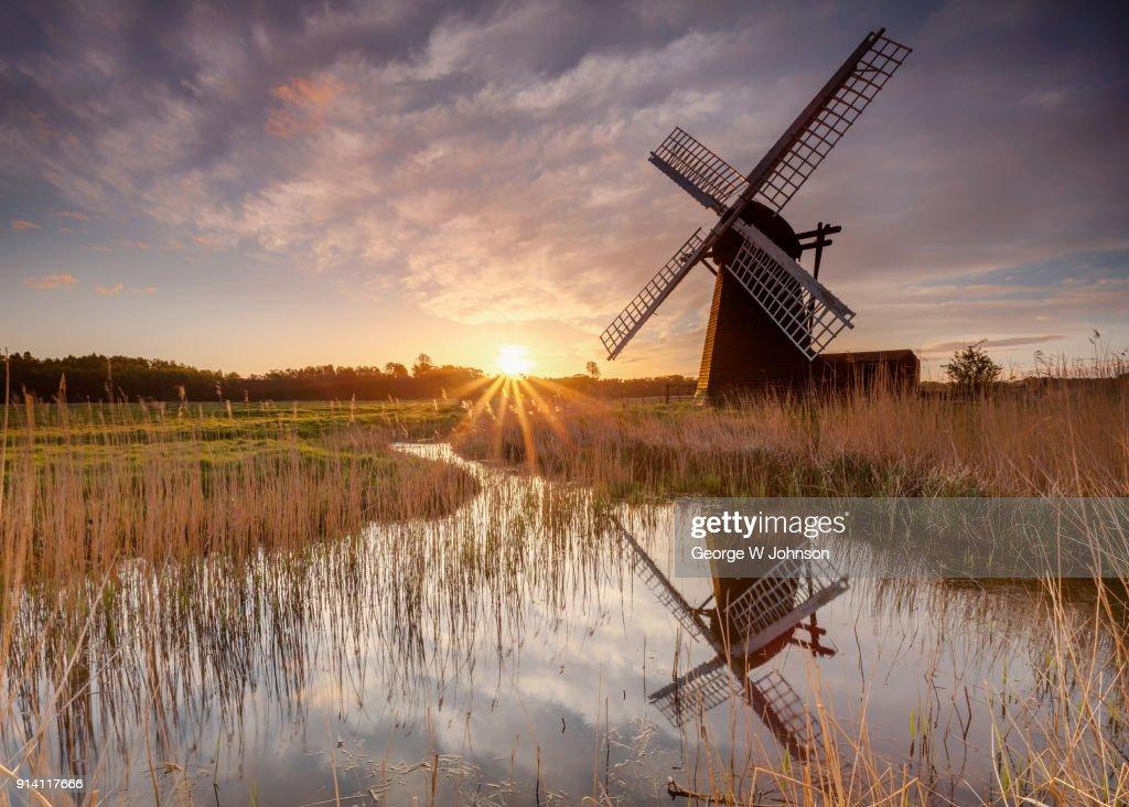 Herringfleet Windmill : Stock Photo