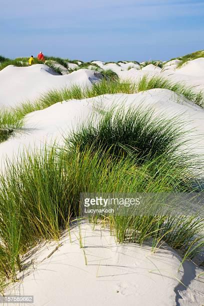 weisser herrlich feiner sand - lucyna koch stock-fotos und bilder