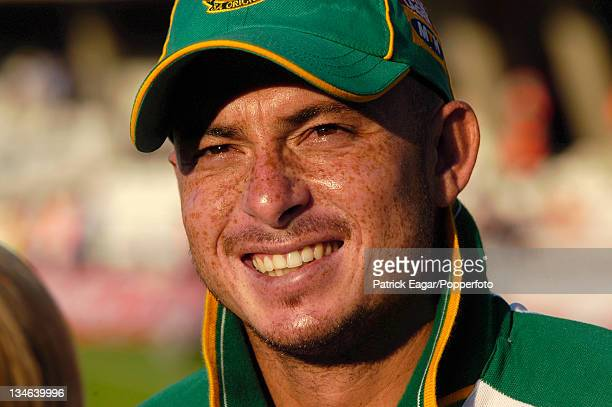 Herschelle Gibbs England v South Africa 5th Test The Oval Sep 03