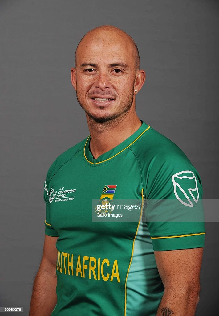AFRICA - SEPTEMBER 19, Herschelle Gibbs of South Africa poses during an ICC Champions photocall session at Sandton Sun on September 19, 2009 in Sandton, South Africa.