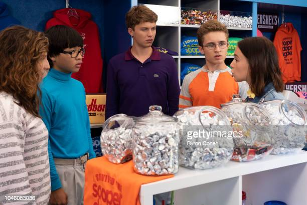 THE GOLDBERGS 'Hersheypark' Adam discovers Beverly has been manipulating him with guilt letters when he tells his mother he doesn't want her to...