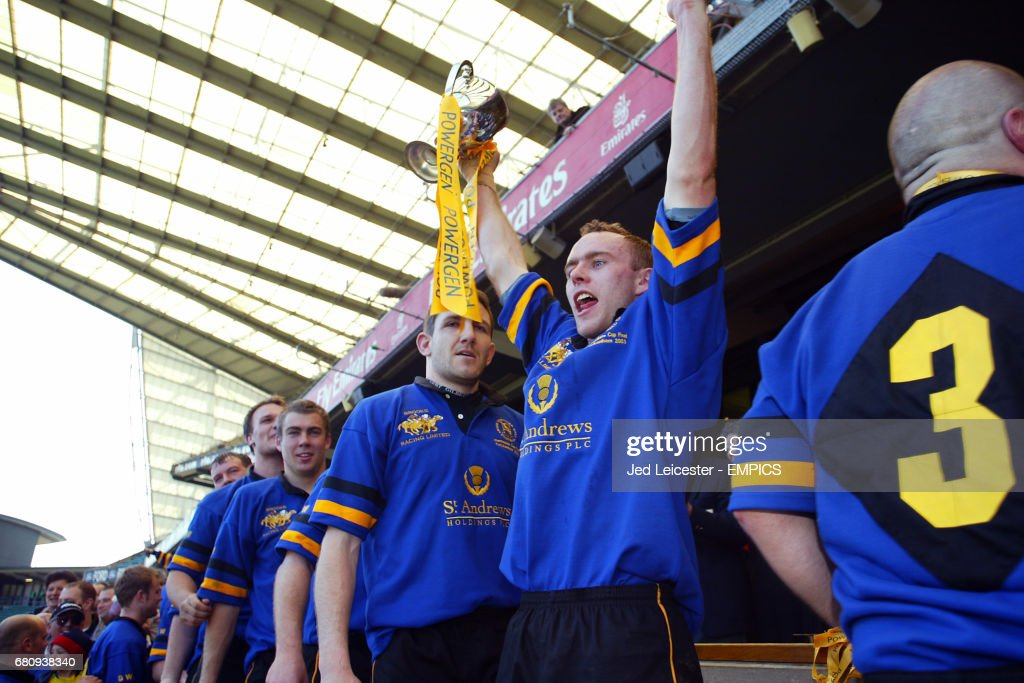 Rugby Union - Powergen Intermediate Cup - Final - St Mary's Old Boys v Hertford : News Photo