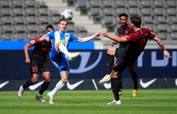DEU: Hertha BSC v FC Augsburg - Bundesliga