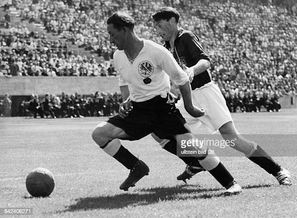 Hertha BSC Hannover 96Krause von Hertha 1940 Berliner Olympiastadion