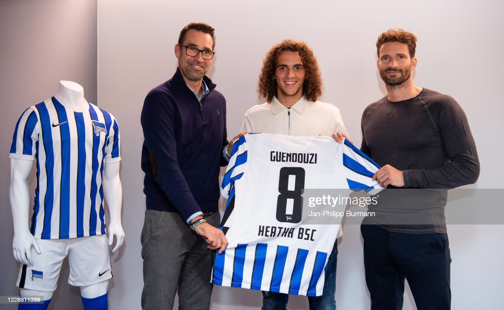 BUNDESLIGA - Hertha BSC Unveils New Signings : News Photo
