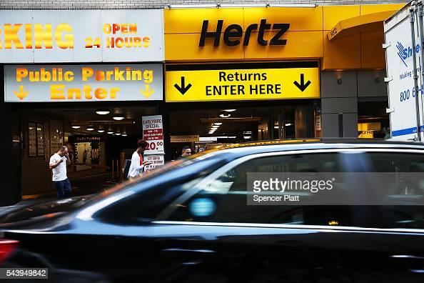 hertz locations manhattan