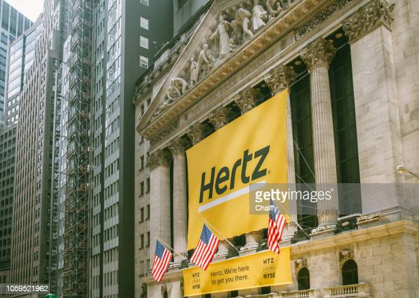 Hertz on New York Stock Exchange building