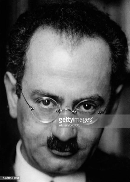 Hertz Paul Politician Germany*23061888 Photographer Dephot undatedVintage property of ullstein bild