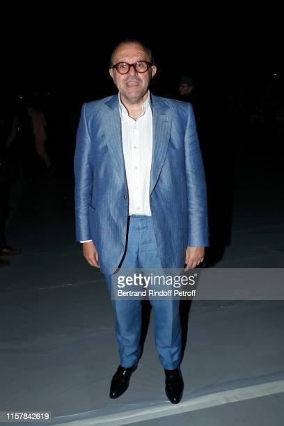 Hervé Temime attends the Celine Spring Summer 2020 show as part of Paris Fashion Week on June 23 2019 in Paris France